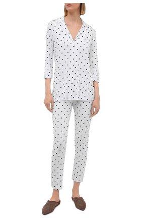 Женская пижама из вискозы LE CHAT белого цвета, арт. BELLAGIO106 | Фото 1