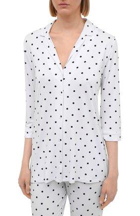 Женская пижама из вискозы LE CHAT белого цвета, арт. BELLAGIO106 | Фото 2