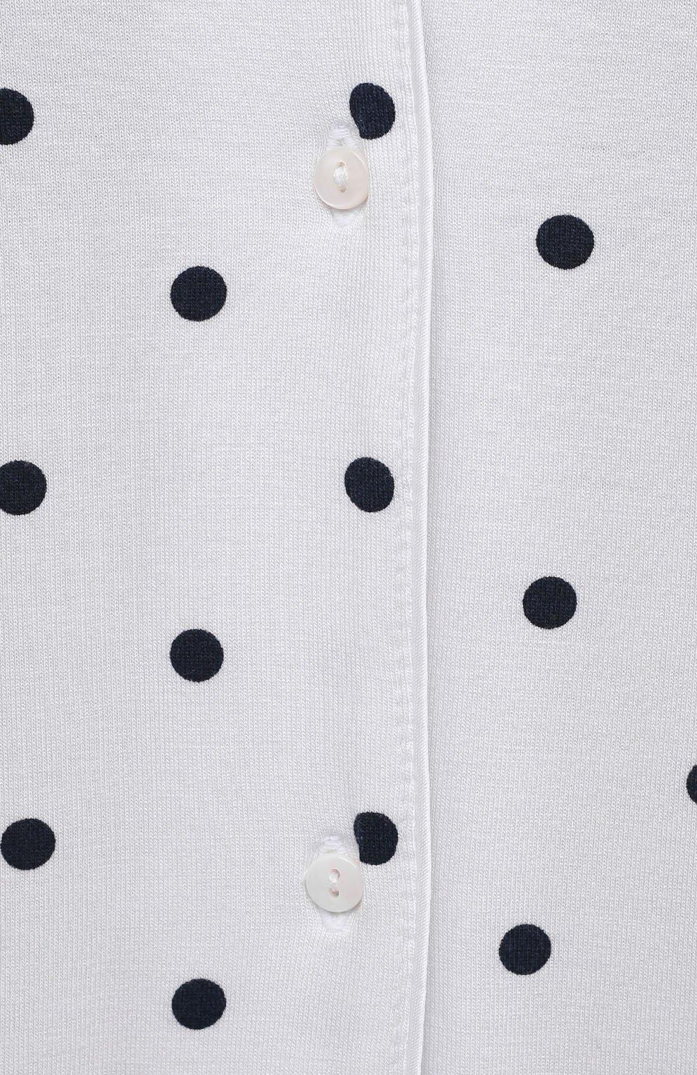 Женская пижама из вискозы LE CHAT белого цвета, арт. BELLAGIO106 | Фото 6 (Длина Ж (юбки, платья, шорты): Мини; Длина (брюки, джинсы): Стандартные; Длина (для топов): Стандартные; Материал внешний: Вискоза; Рукава: 3/4)