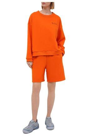 Женский хлопковый костюм SEVEN LAB оранжевого цвета, арт. SWS21-IL orange   Фото 1