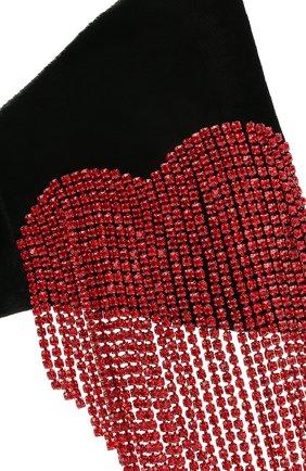 Женская бант PANFIL черного цвета, арт. 0-V8-HrtR   Фото 3 (Материал: Текстиль)