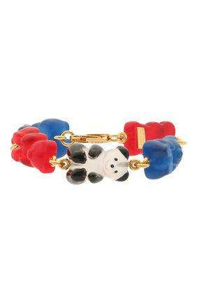 Женский браслет gummy bear BALENCIAGA разноцветного цвета, арт. 655300/TZ25C | Фото 1