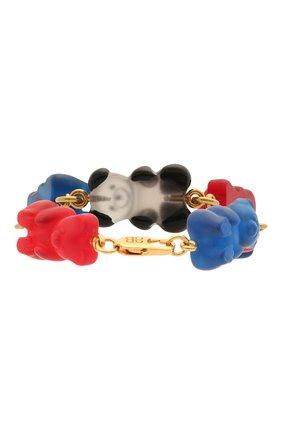 Женский браслет gummy bear BALENCIAGA разноцветного цвета, арт. 655300/TZ25C | Фото 2
