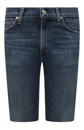 Женские джинсовые шорты CITIZENS OF HUMANITY синего цвета, арт. 1933-850 | Фото 1