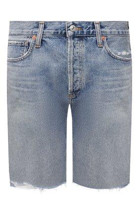 Женские джинсовые шорты CITIZENS OF HUMANITY голубого цвета, арт. 1928-837 | Фото 1