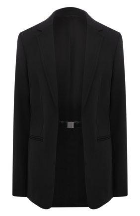 Женский жакет HELMUT LANG черного цвета, арт. L01HW101 | Фото 1