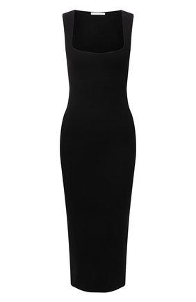 Женское платье из вискозы HELMUT LANG черного цвета, арт. L02HW708 | Фото 1