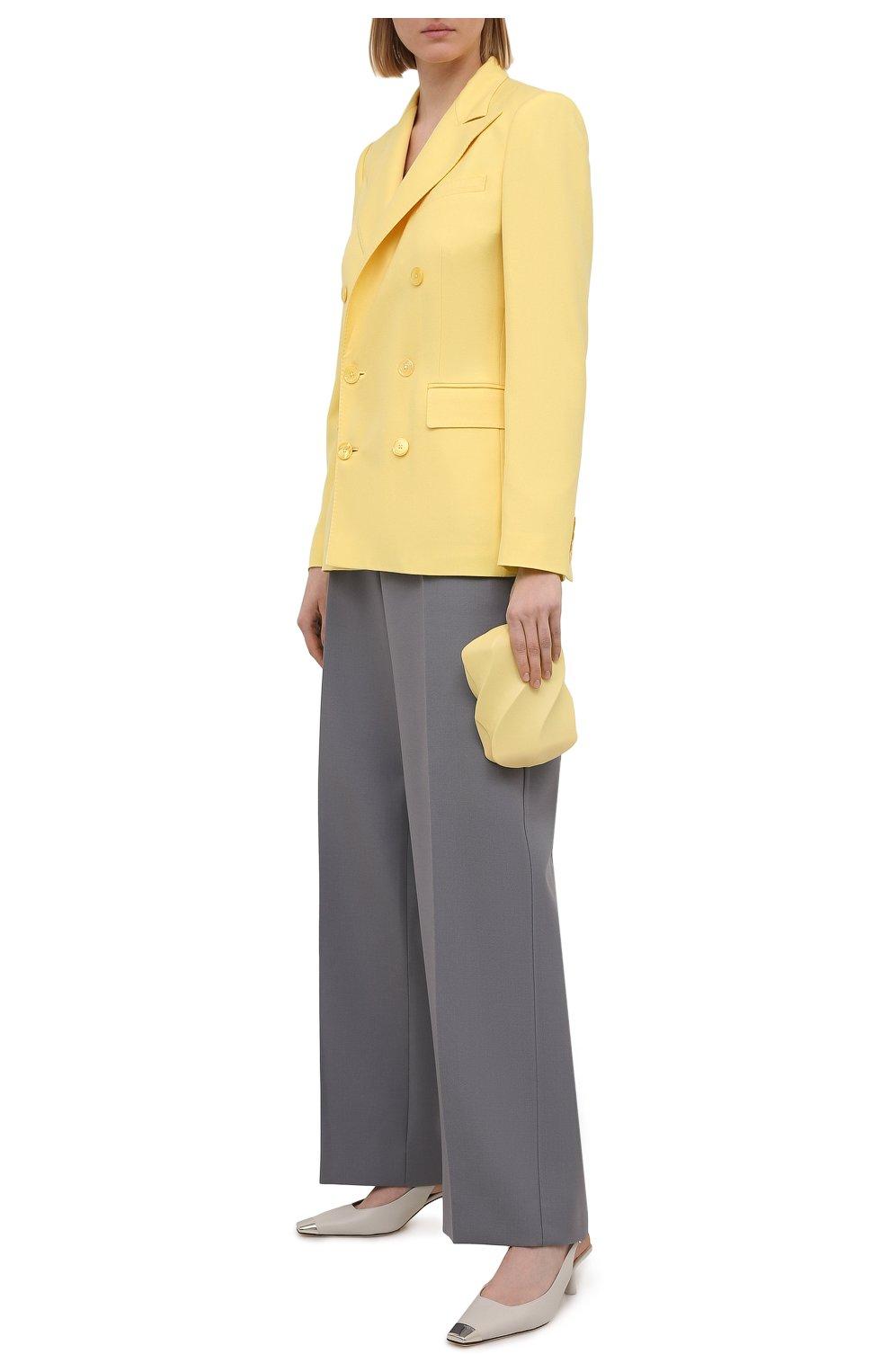 Женский кашемировый жакет RALPH LAUREN желтого цвета, арт. 290625543 | Фото 2