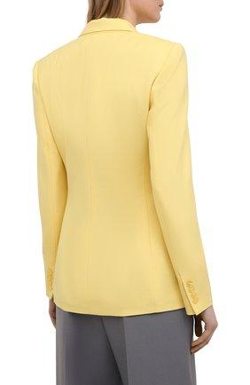 Женский кашемировый жакет RALPH LAUREN желтого цвета, арт. 290625543 | Фото 4
