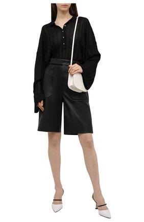 Женский пуловер из вискозы TOTÊME черного цвета, арт. 212-570-760 | Фото 2