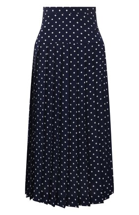 Женская шелковая юбка ALESSANDRA RICH синего цвета, арт. FAB2365-F3132 | Фото 1