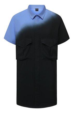 Женская рубашка Y`S синего цвета, арт. YD-B03-208 | Фото 1