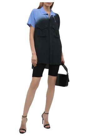 Женская рубашка Y`S синего цвета, арт. YD-B03-208 | Фото 2