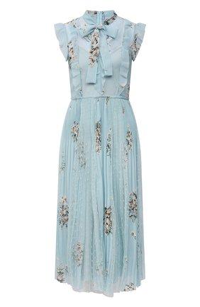 Женское платье REDVALENTINO светло-голубого цвета, арт. VR0VAZ85/5SR   Фото 1
