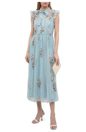 Женское платье REDVALENTINO светло-голубого цвета, арт. VR0VAZ85/5SR   Фото 2