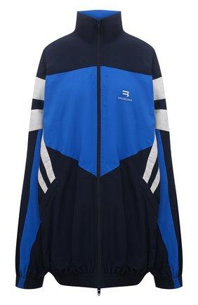 Женская куртка BALENCIAGA синего цвета, арт. 659031/TK048 | Фото 1