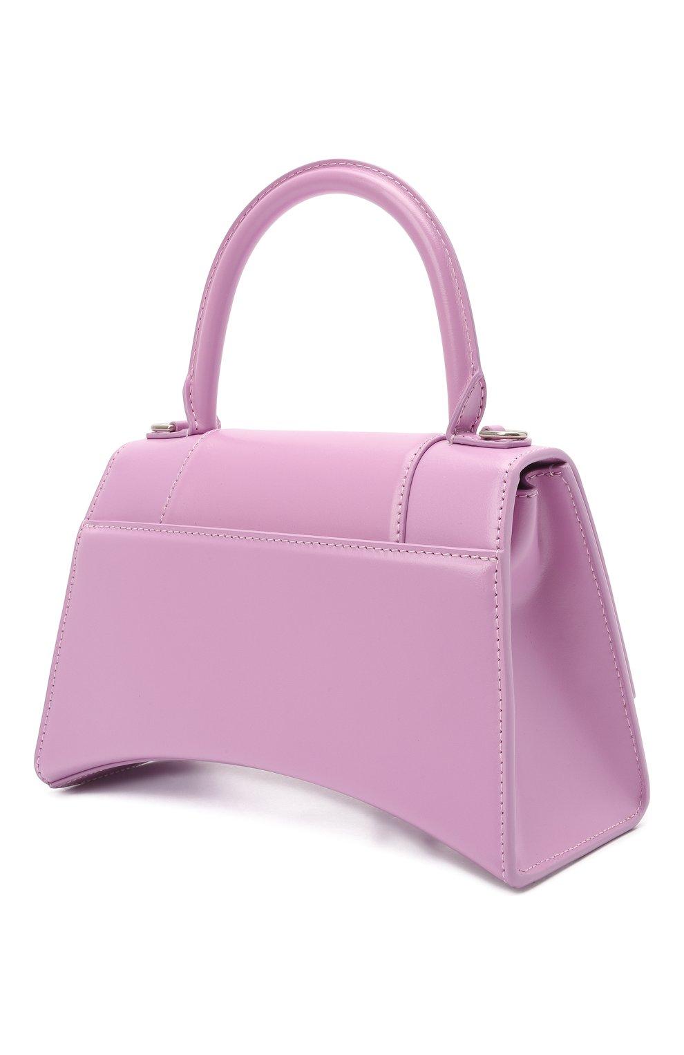 Женская сумка hourglass s BALENCIAGA сиреневого цвета, арт. 593546/1QJ4I | Фото 3