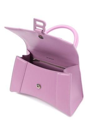 Женская сумка hourglass s BALENCIAGA сиреневого цвета, арт. 593546/1QJ4I | Фото 4