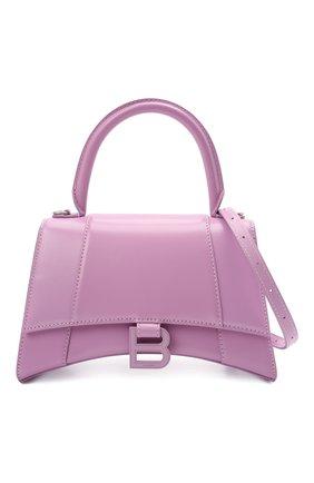 Женская сумка hourglass s BALENCIAGA сиреневого цвета, арт. 593546/1QJ4I | Фото 6