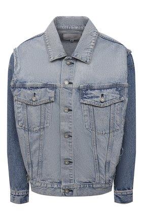 Женская джинсовая куртка MOUSSY голубого цвета, арт. 025ESC11-1250 | Фото 1