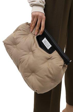 Женская сумка glam slam MAISON MARGIELA бежевого цвета, арт. S61WG0034/P4086   Фото 2