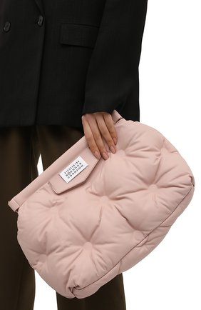 Женская сумка glam slam MAISON MARGIELA светло-розового цвета, арт. S61WG0034/PR818   Фото 2