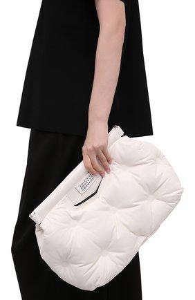 Женская сумка glam slam MAISON MARGIELA белого цвета, арт. S61WG0034/PR818   Фото 2