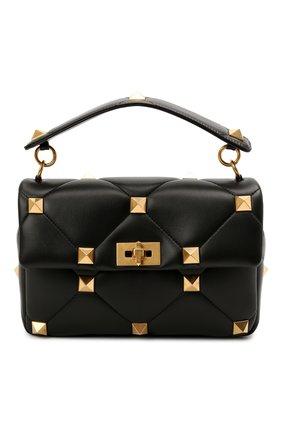 Женская сумка roman stud VALENTINO черного цвета, арт. VW0B0I60/BSF | Фото 1