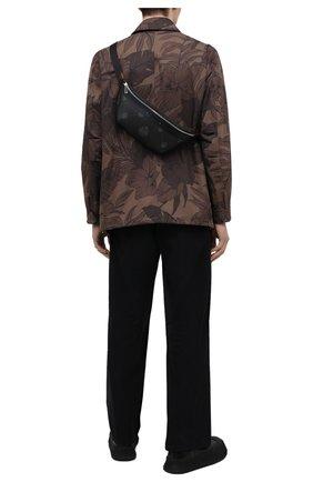 Мужская поясная сумка BERLUTI черного цвета, арт. M223398 | Фото 2