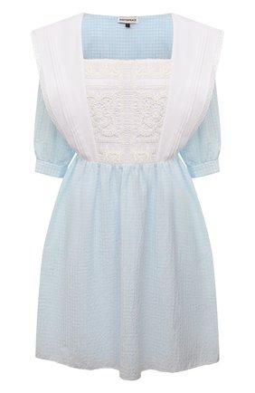 Женское хлопковое платье MASTERPEACE светло-голубого цвета, арт. MP-R21-33   Фото 1