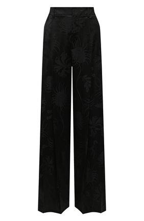 Женские брюки из вискозы JW ANDERSON черного цвета, арт. TR0126 PG0498 | Фото 1