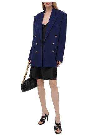 Женские кожаные мюли arrow OFF-WHITE черного цвета, арт. 0WIH010S21LEA0011000 | Фото 2