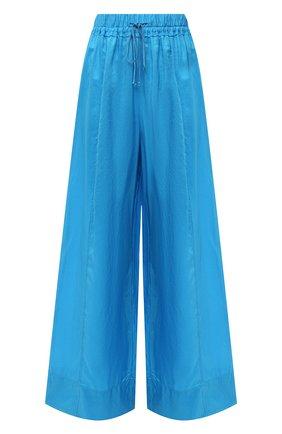 Женские шелковые брюки FORTE_FORTE голубого цвета, арт. 8230 | Фото 1