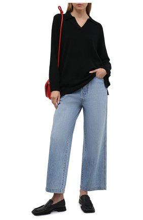 Женский кашемировый пуловер FTC черного цвета, арт. 820-0470   Фото 2