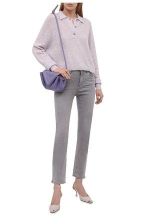 Женские джинсы PAIGE серого цвета, арт. 5547H35-2539 | Фото 2