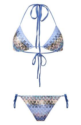 Женский раздельный купальник MISSONI голубого цвета, арт. MMP00006/BR00E3 | Фото 1