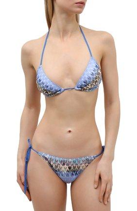Женский раздельный купальник MISSONI голубого цвета, арт. MMP00006/BR00E3 | Фото 2