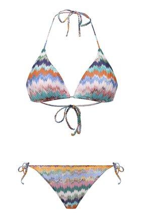 Женский раздельный купальник MISSONI разноцветного цвета, арт. MMP00006/BR00E8 | Фото 1