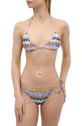 Женский раздельный купальник MISSONI разноцветного цвета, арт. MMP00006/BR00E8 | Фото 2
