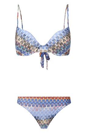 Женский раздельный купальник MISSONI разноцветного цвета, арт. MMP00122/BR00E3 | Фото 1