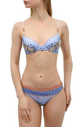 Женский раздельный купальник MISSONI разноцветного цвета, арт. MMP00122/BR00E3 | Фото 2