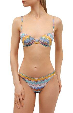 Женский раздельный купальник MISSONI разноцветного цвета, арт. MMP00122/BR00E8 | Фото 2