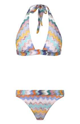 Женский раздельный купальник MISSONI разноцветного цвета, арт. MMP00231/BR00E8 | Фото 1