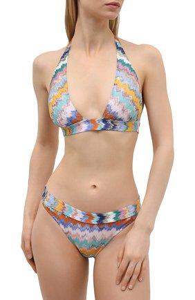 Женский раздельный купальник MISSONI разноцветного цвета, арт. MMP00231/BR00E8 | Фото 2