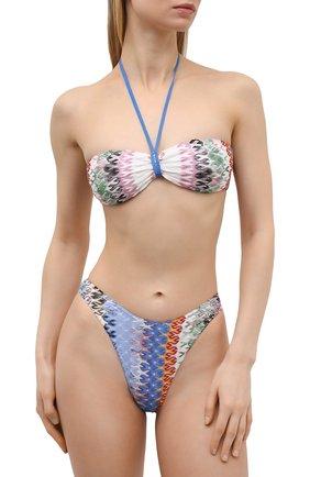Женский раздельный купальник MISSONI разноцветного цвета, арт. MMP00260/BR00E3 | Фото 2