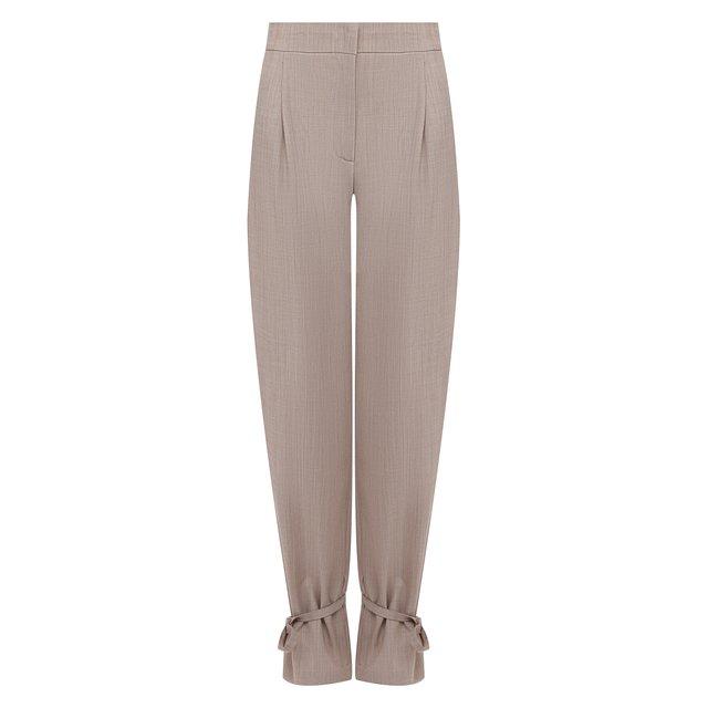 Шерстяные брюки Erika Cavallini