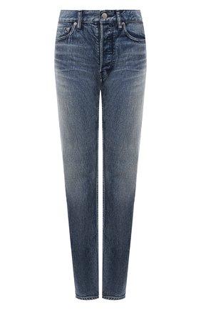 Женские джинсы AMBUSH синего цвета, арт. BWYA001S21DEN001 | Фото 1