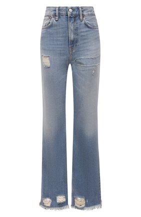 Женские джинсы ACNE STUDIOS голубого цвета, арт. A00281 | Фото 1