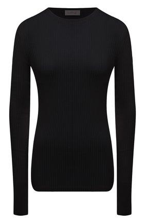 Женский хлопковый пуловер MRZ черного цвета, арт. S21-0015 | Фото 1