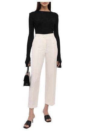 Женский хлопковый пуловер MRZ черного цвета, арт. S21-0015 | Фото 2